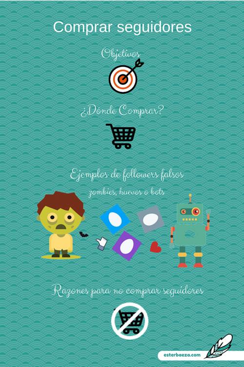 Comprar-seguidores-redes-sociales Infografía