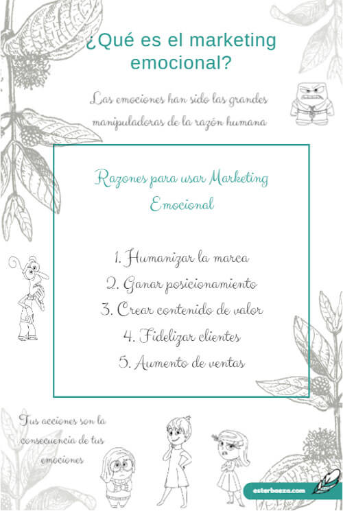 infografia que es el marketing emociona